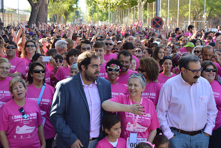 I Carrera Rosa a beneficio de AMUMA