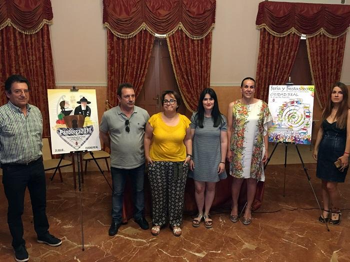 Carteles de Pandorga y Feria 2017