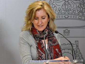 Rosario Roncero en rueda de prensa