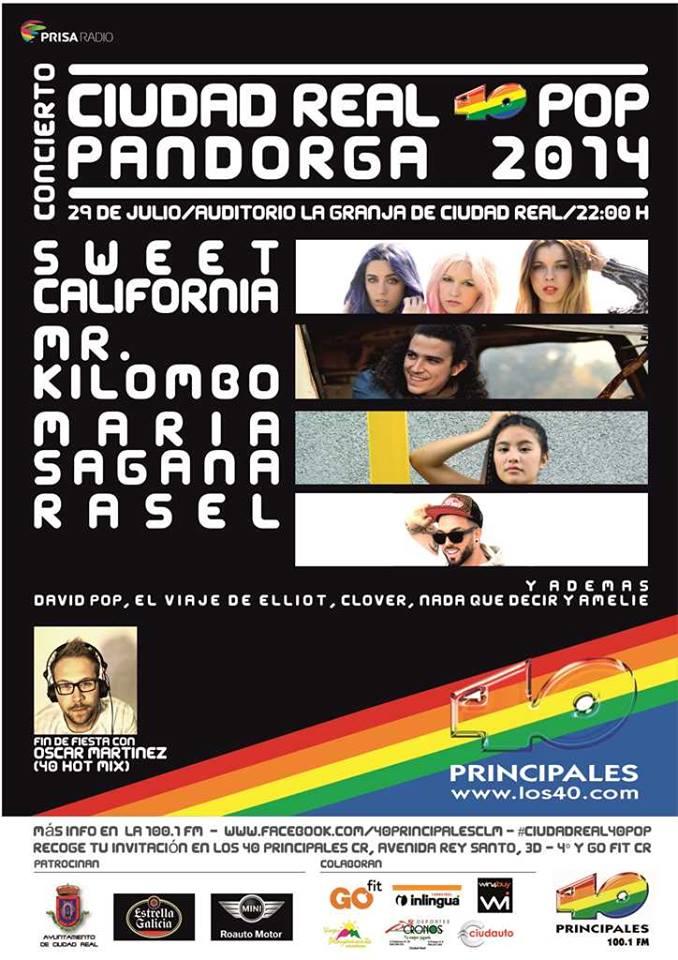 40pop Ciudad Real Pandorga 2014