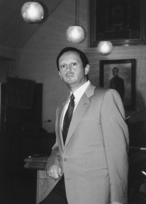 D. Nicolás Clavero Romero (1993-95)